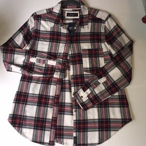 Abercrombie & Fitch Soft Flannel ButtonDown NWTGS